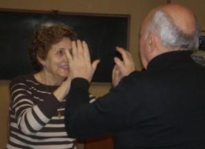 Blanca Omatos Elguea, taller de expresión corporal de Soinhezi