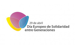 Logo Dia Europeu de la Solidaridad entre Generaciones 2013