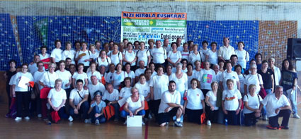 VIII Marathon de Actividades Físico-Deportivas de personas mayores de Basauri.