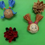 Trabajos creativos realizados en la ludoteca Arrigorri-