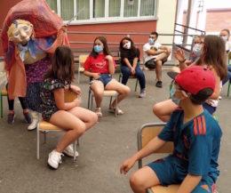 Programa de udatekak organizado por la ludoteca de Usandolo en 2020