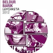 Cartel concurso Beldur Barik 2012