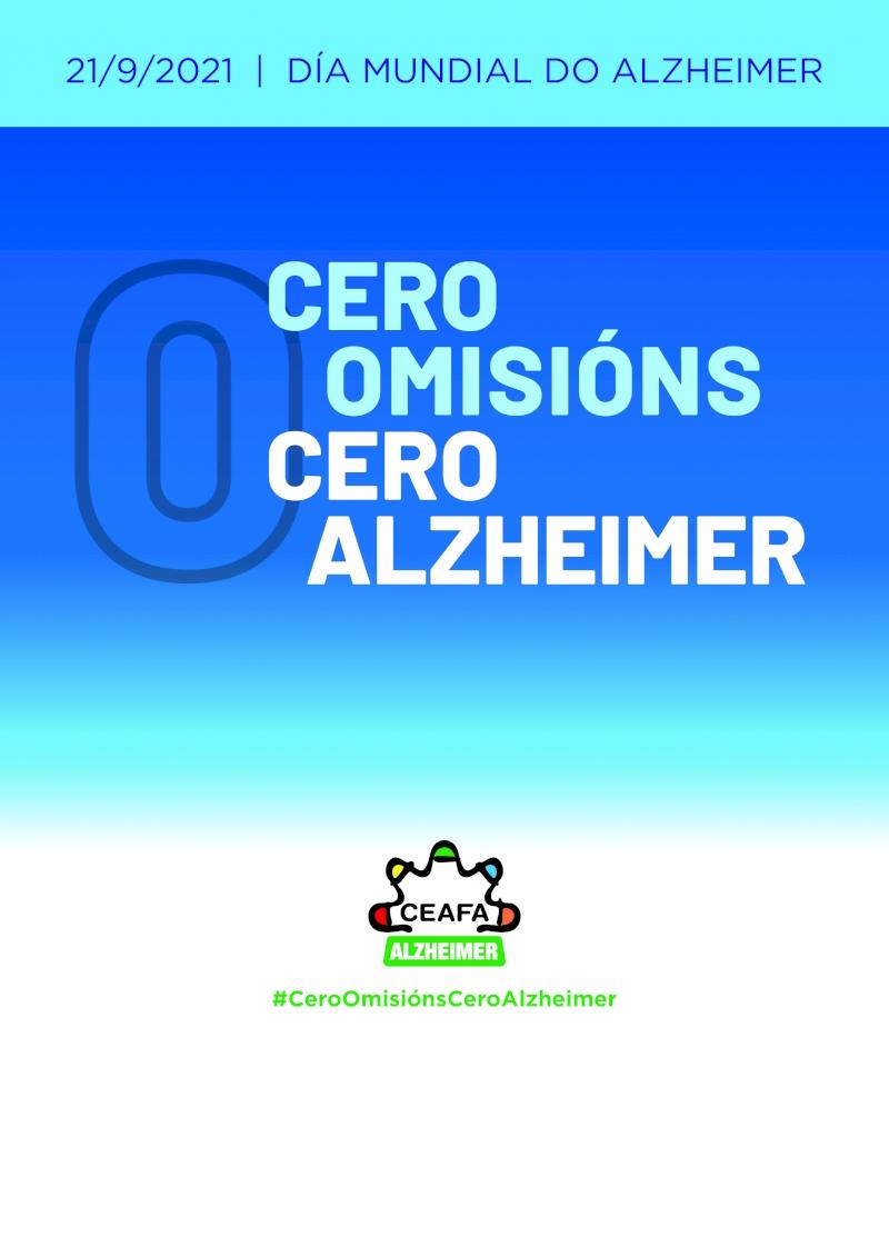 Cartel Día Mundial del Alzheimer.