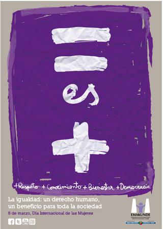Cartel Emakunde - Día Internacional de la Mujer 2013