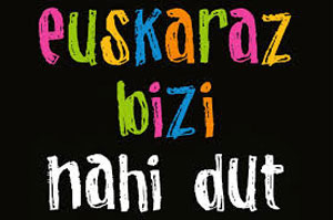Euskeraz nahi dut