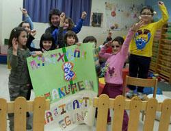 Día Internaconal de las Mujeres en las ludotecas de Soinhezi.
