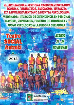 VI Jornadas Dependencia personas mayores 2013