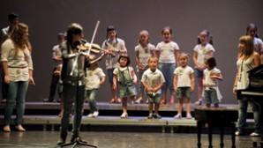 Actuación de la ludoteca de Usansolo en Torrezabal Kultur Etxea