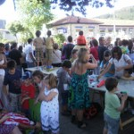 Celebrando la fiesta de San Juan en la ludoteca de Usansolo