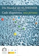 Cartel Día Mundial del Alzheimer