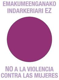 Logo No a la violencia contra las mujeres